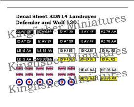 Landrover Defender & Wolf 130